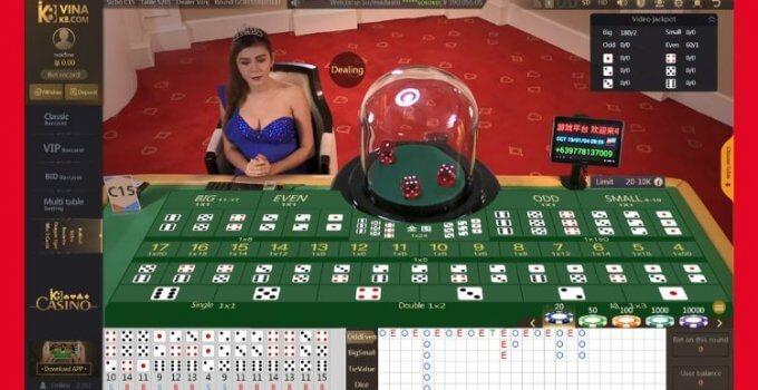 5 bước đơn giản để chiến thắng khi chơi Sicbo (Phần 1)