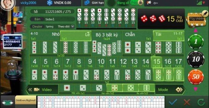5 bước đơn giản để chiến thắng khi chơi Sicbo (Phần 2)