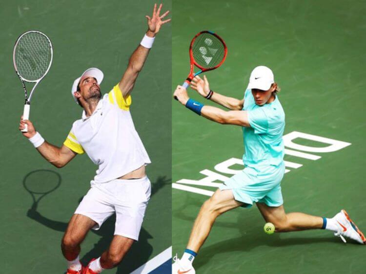 thi đấu quần vợt