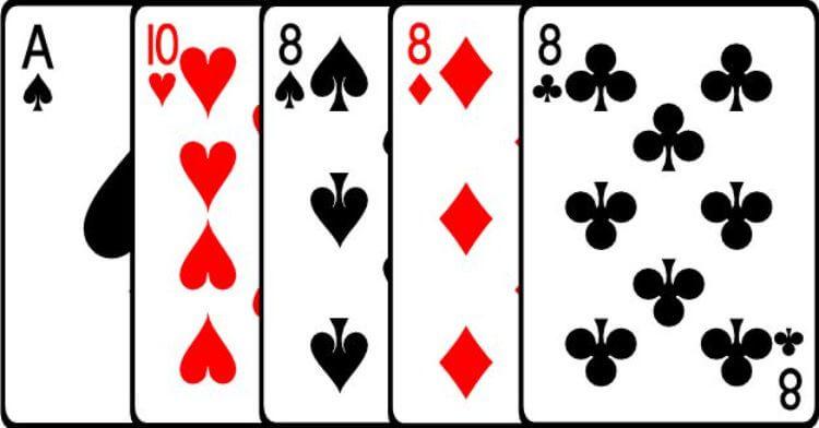 bộ ba poker